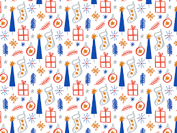 octopus wrapping paper print