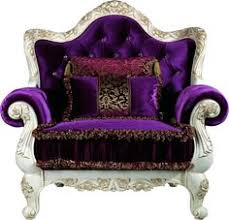 purple chair and ottoman different furniture pieces brought