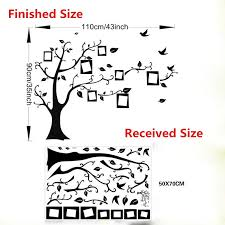 large family tree diy wall stickers smartonlineshoppers