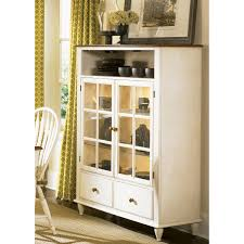 liberty furniture low country sand curio cabinet hayneedle