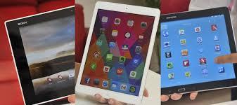best android tablet 2014 the best tablet of 2014 apple vs sony vs samsung pc world australia