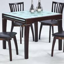 Glass Top Square Dining Table Rectangular Square Glass Dining Table Glass Top Dining Tables With