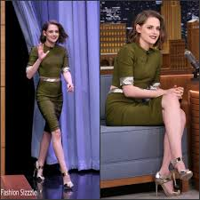 Fashion Sizzlers Archives Fashionsizzle by Kristen Stewart In Mugler U0027the Tonight Show Starring Jimmy Fallon