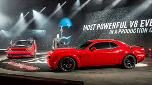 dodge challenger demon dodge challenger demon a weapon on the dragstrip