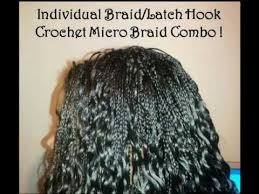 micro crochet hair micro braids and crochet micro braids combination youtube