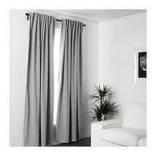 light blocking curtains ikea majgull blackout curtains 1 pair gray room darkening curtains