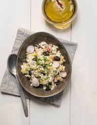 cuisine chou fleur taboulé de chou fleur et radis pour 4 personnes recettes à table