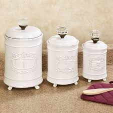 pottery canisters kitchen remarkable amazing kitchen canister best 25 ceramic canister set