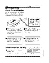 popular word problem printables teachervision