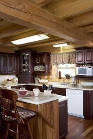 Log Home Interiors 32 Best Kitchen Designs U2013 Honest Abe Log Homes Images On Pinterest