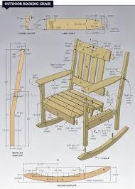 Rocking Chair Outdoor Furniture Outdoor Rocking Chair Plans U2022 Woodarchivist