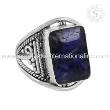 model cincin blue safir blue sapphire rings blue sapphire rings suppliers and