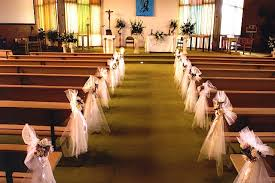 Wedding Pew Bows Wedding Pew Decorations Pinterest How To Make Wedding Pew