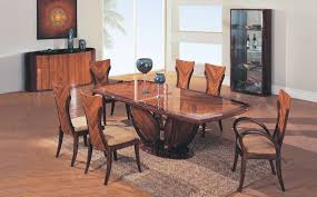 types of dining tables finest two tone finish modern pedestal dining table with chairs