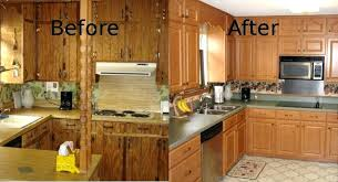 who refaces kitchen cabinets cabinet refacing before and after ideas old kitchen cabinet of