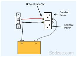 single pole switch outlet wiring diagram wiring diagram