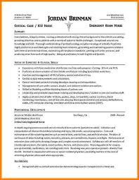 Icu Nurse Resume Template Rn Resume Example Cover Letter Ideas About Nursing Resume Rn