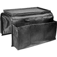 accoudoir canapé sodial r sac de rangement a l accoudoir de canape noir amazon fr