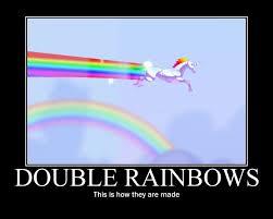 Unicorn Rainbow Meme - image 59346 double rainbow know your meme