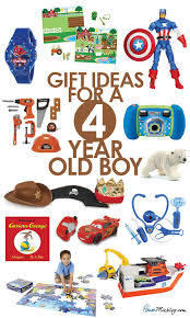 toys for a 4 year boy house mix