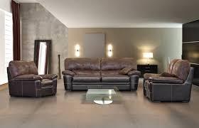 canapé style industriel canapé fixe et fauteuils en cuir marron photo 3 12 le style