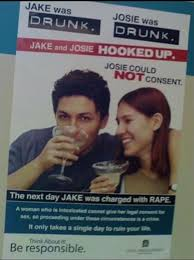 Drunk College Student Meme - how this school s old anti rape poster sparked new controversy