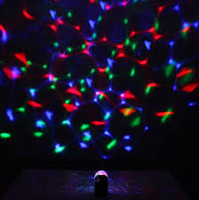 light up portable speaker wireless bluetooth mini mp3 music speaker led disco mirror ball club