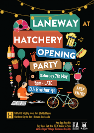 Buy A Keg Laneway Hatchery Opening Party May 7 Celebrates With White Tiger