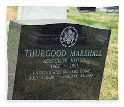 tombstone for sale thurgood marshall s tombstone fleece blanket for sale by cora wandel