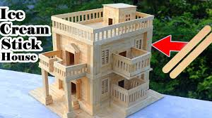modern house building how to make modern popsicle sticks house building popsicle stick