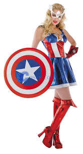 Captain America Halloween Costumes Captain America Cosplay Costume Leotard Cosercosplay