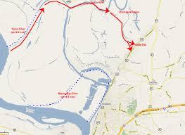 Google Maps Ohio Description Of Battle Of Chickasaw Bayou