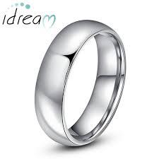 Personalized Wedding Band Personalized Tungsten Wedding Bands Polished Tungsten Carbide