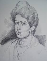 picasso woman drawing after1 jpg 1 193 1 529 píxeles picasso