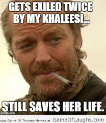 jorah mormont is a good guy http gameoflaughs com we are the