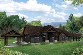 lodge style house plans cedar height 30 975 associated designs