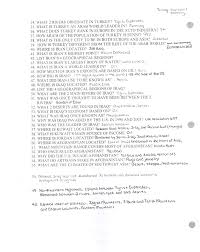mr e u0027s world geography page world geography chapter 21 the