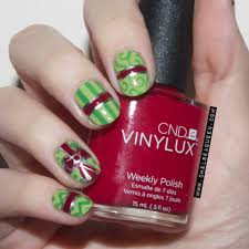 diy christmas bow nails tutorial cute xmas nail art design youtube