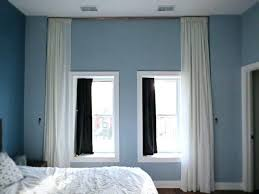 Hang Curtains From Ceiling Designs How To Hang Curtains From The Ceiling Gopelling Net
