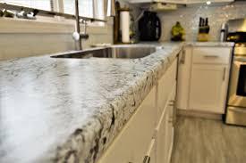 white kitchen cabinets laminate countertops laminate countertop modern edge detail white granite