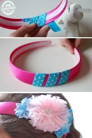 ribbon headbands sewing ribbon headbands tutorial someday if i a girl