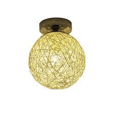 Sphere Ceiling Light by Aliexpress Com Buy Modern Fashional Diy Handmde Wicker Work