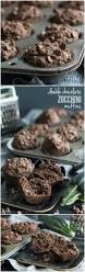 double chocolate zucchini muffins baking a moment