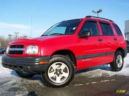 chevy tracker 1995 2002 wildfire red chevrolet tracker 4wd hard top 2974056