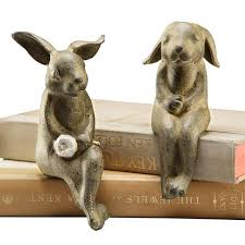 Bunny Rabbit Home Decor 139 Best Rabbit Sculptures U0026 Statues Images On Pinterest Bunny