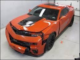wrecked camaro zl1 for sale let the wrecked zl1s begin camaro5 chevy camaro forum camaro