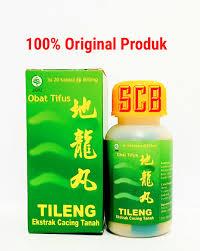 Obat Kapsul Cacing Tanah jual tileng ekstrak cacing tanah obat tifus tipes typhus