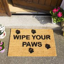 Mohawk Home Wipe Your Paws Wipe Your Paws Doormat Artsy Doormats Wipe Your Paws Door Mat