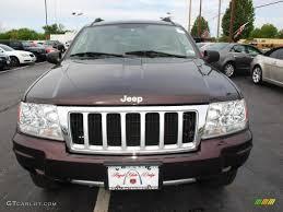 2004 deep lava red metallic jeep grand cherokee limited 4x4