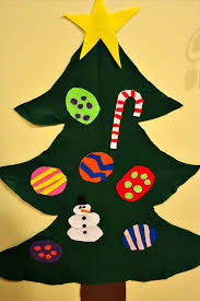 felt christmas tree activity for kids sunshine whispers